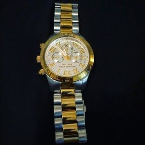Michael Kors 37mm Gold and Silver Two Tone Watch